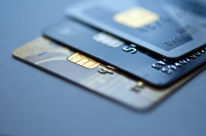 Credit cards representing how bankruptcy can affect your credit
